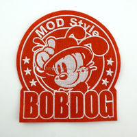 2014 High Quality Customized Embroidery fabric patch