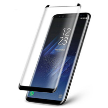 High Clear tempered glass 3D screen protector for Samsung S8