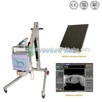Hospital x ray room use digital radiology equipment