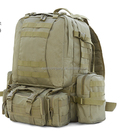 Military Style 50L Three Day Hydration Ready Backpack with Survival Kit