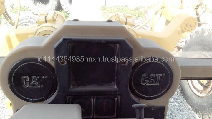 CATERPILLAR 120G 12G used motor grader Japan's original JAPAN motor grader spare parts for sale