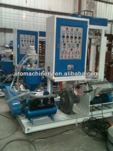 UTOPLAS Super High Speed mini type pe film blowing machine/plastic extruder