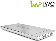 IWO P28S 5600mAh ultra slim aluminum case charge power bank,cell phone battery charger