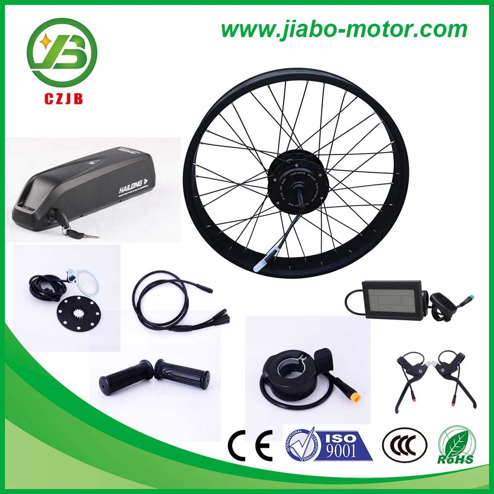 "CZJB jb-104c2 Rear 26"" * 4 Fat Rim 750W Electric Bicycle Hub Motor Conversion Kit"