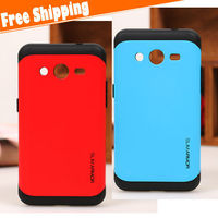 PC+TPU shockproof hybrid mobile phone armor case for Samsung galaxy Core 2 G355H