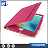 Fancy book style universal 9.7 inch leather tablet silicone case cover for ipad air