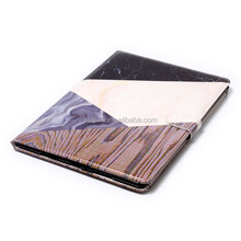 Hot selling marble pu leather wallet Colorful Printing PU Leather Tablet Cover Case for Apple iPad mini 4