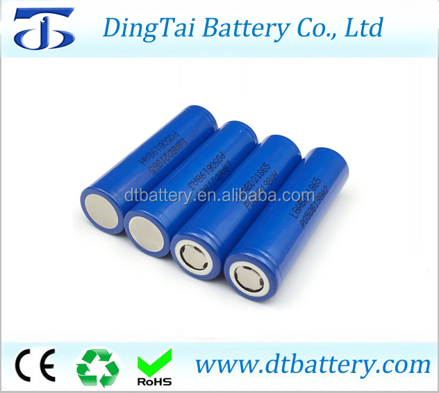 18650 backup power battery 3.6v 3000mah li-ion battery cells LG18650 D2