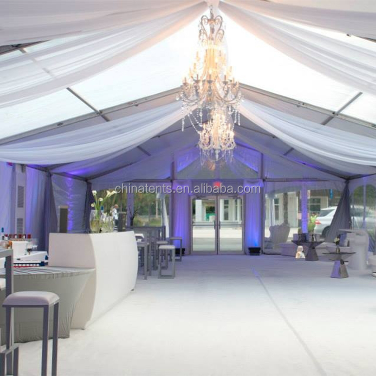 20x30 Used Canvas Party Wedding Tent With Glass Wall