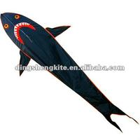 folk shark fish kite craft
