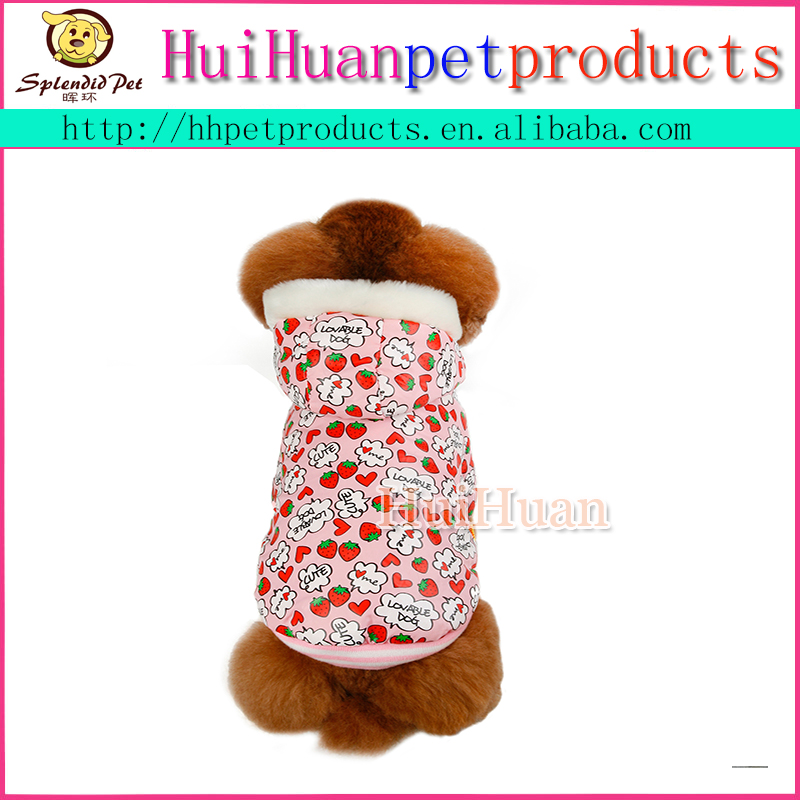 Chihuahua Dog Clothes Reversible Winter Dog Jacket