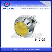 JH12-05 12mm Metal Pushbutton Switch with screws terminals, Colour Is Selectable