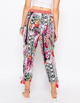 Daydreamer pocket design ladies Beach trousers hippie