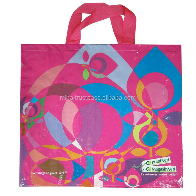 Recycled Eco friendly high quality foldable Shopping bag from Vietnam
