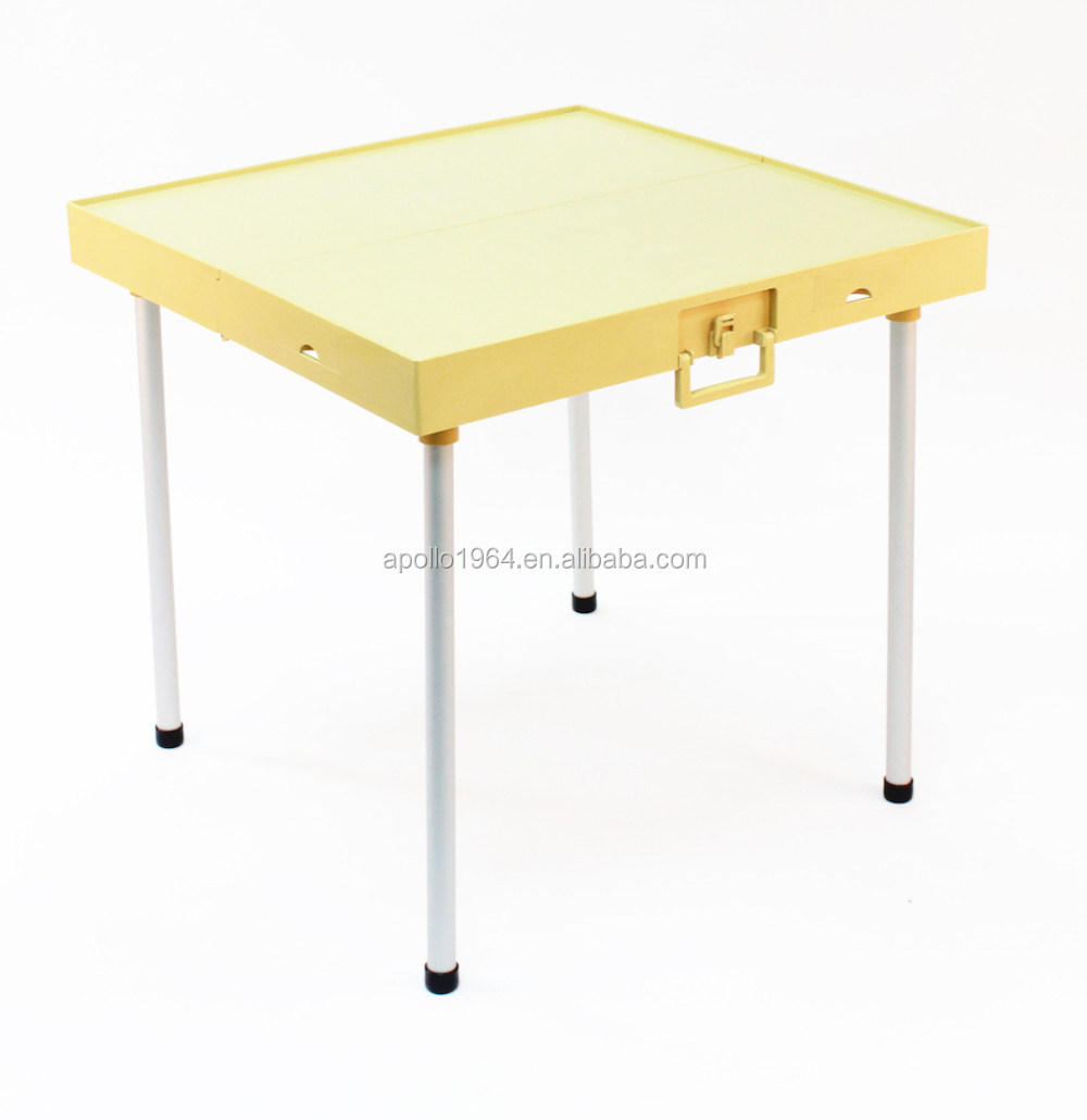 Apollo Plastic Folding Table Gold