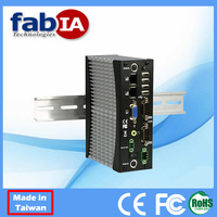 FX5326 Dual Core N2600 (1.6GHz, 1MB L2, 800MHz FSB, 3.5W), 2GB DDR3, 1S, 1CAN, 4USB, 2LAN, VGA, Audio Fanless Embedded Computer