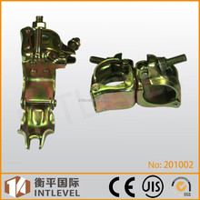 2015 Intleve Hot sale Nice Quality 90 Degrees Scaffolding Pressed Double Coupler