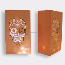 Colored Decorating Halloween Craft Luminary Paper candle Bags