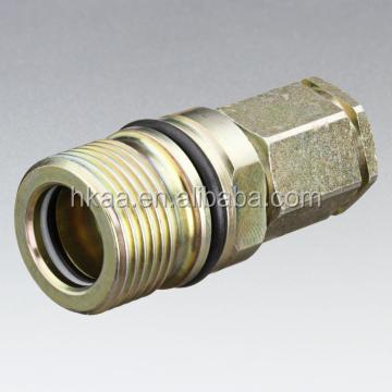 Bass machined hex drive quick coupling sealing screw