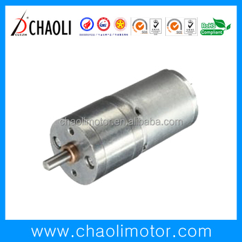 6V 12V gear motor CL-G25-R370 with gear box for toilet paper feed machine