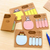 cute design erasable memo pad