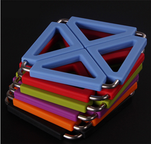 Non Slip Flexible Durable Heat Resistant foldable silicone folding trivet