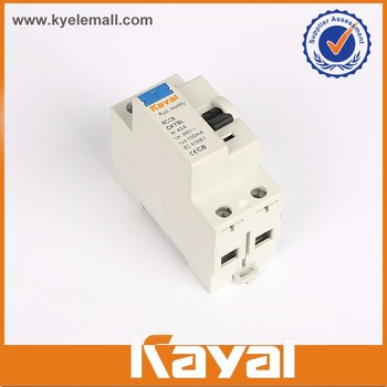 Universal hot product 230/240/400/415V rccb automatic reset circuit breaker