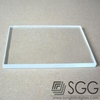 3.2mm Ultra clear solar panels glass