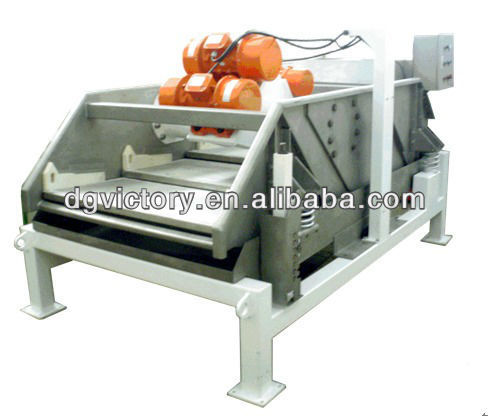 Multi-motion rectangular filtering machine for tobacco leaf