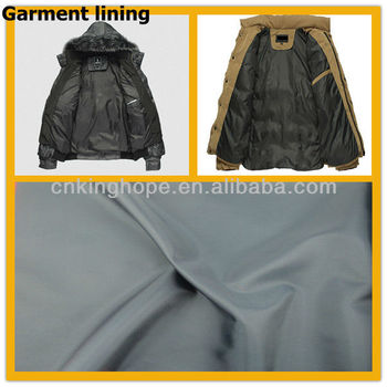 Garment lining-68D polyester fabric