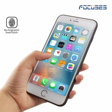 In stock ! 9h 0.33mm Anti fingerprint tempered glass screen protector for iphone7 plus