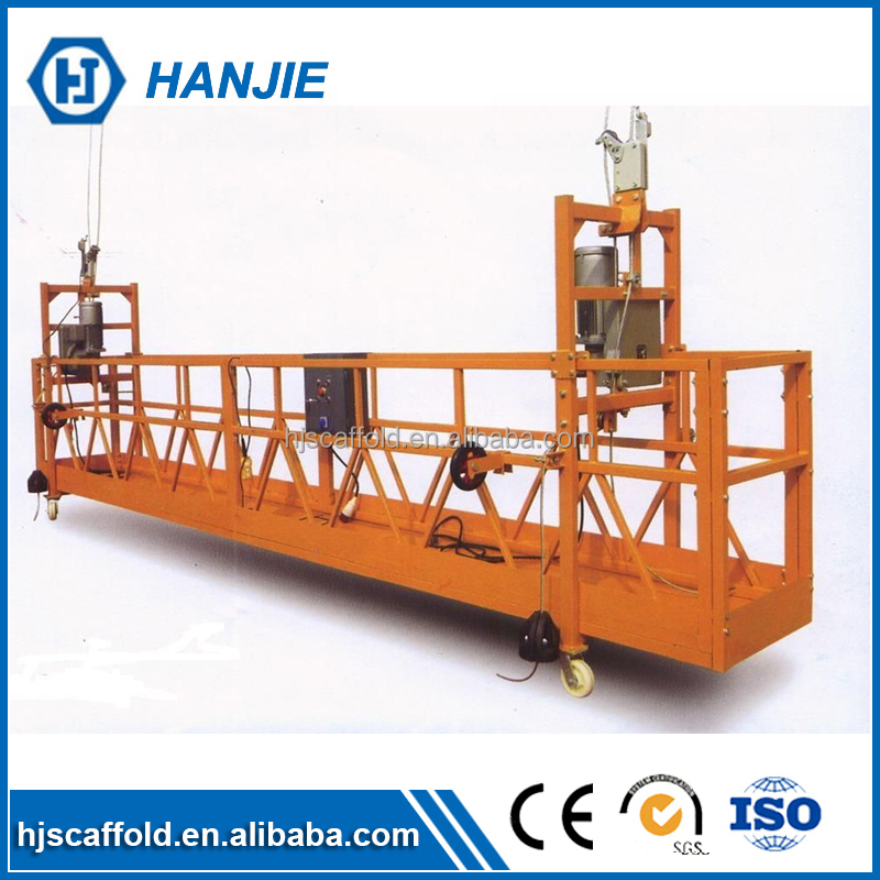 ZLP 630 powered gondola/ cradle aerial work mobile elevator platform