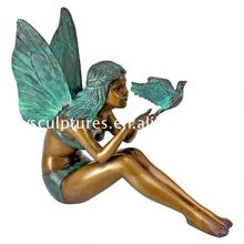 Wholesale china supplier home decoration resin angel statues