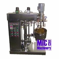 MIC E10 Stainless Small Volume Vacuum Lotion Mixing Machine