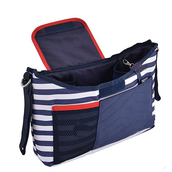 Stroller Organizer Bag Diaper Bag with Cup Holders and Shoulder Strap