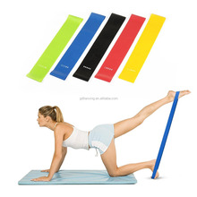 High quality Yoga resistance band/Custom Resistance Exercise Band loop 5 Level