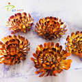 Decorative flower metal wall art sculpture