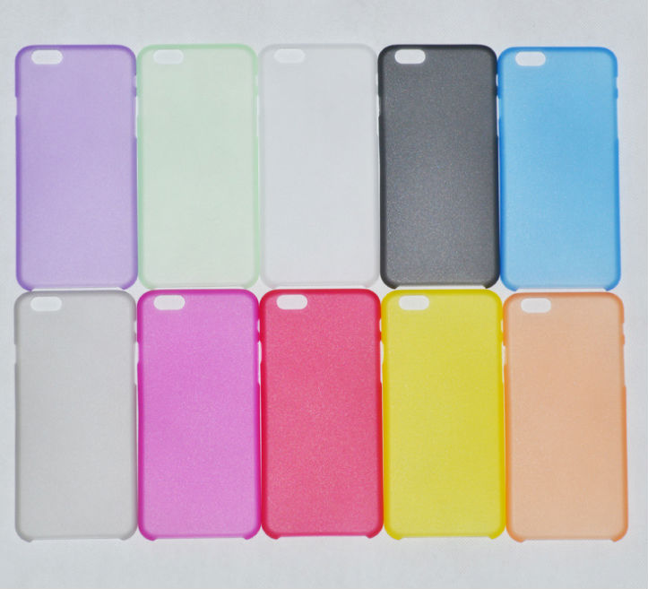 New Matte Clear 0.3mm Ultra Thin Bendable Snap-on Air Case Back Cover for iPhone 6 4.7''