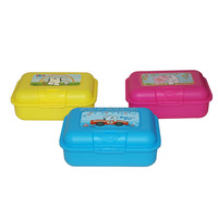 promotional gift plastic lunch box for kids food container 46032