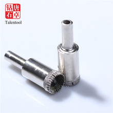 vacuum brazed diamond drill bit for limestone