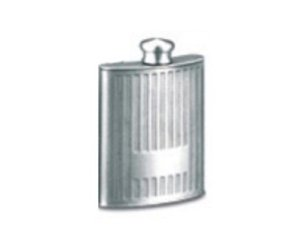 Pewter Whisky Flask