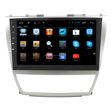 LSQSTAR10.2 inch big screen android car dvd radio GPS navigation stereo for 2008 toyota camry