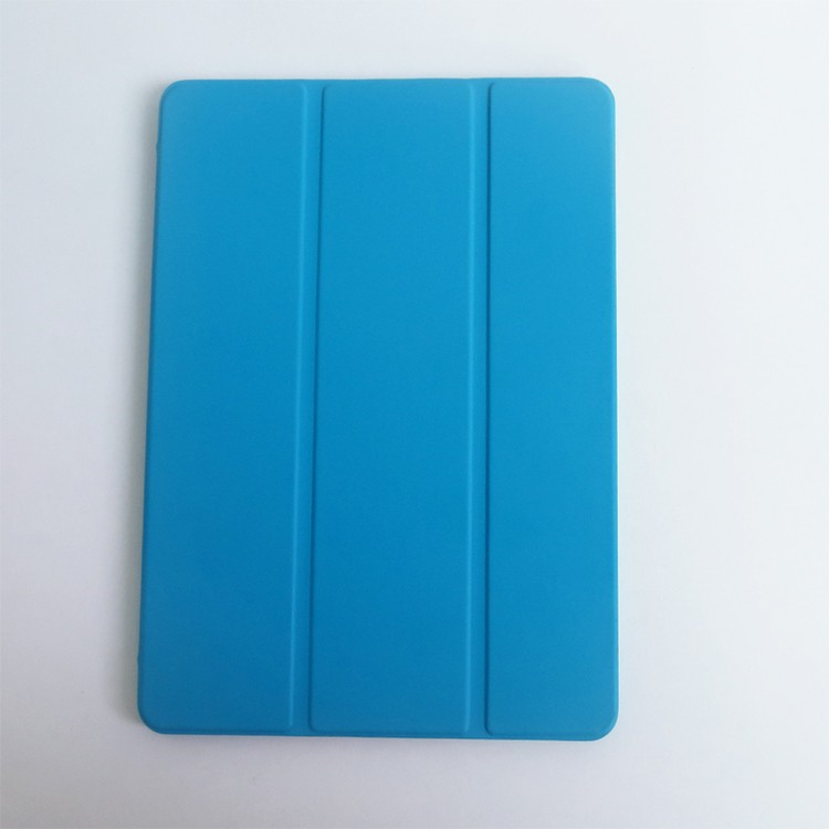 Top Grade 3 Folding Tablet PC Case For Ipad 6 Pu Leather Cover