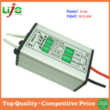 dc to dc 5w 300ma waterproof 12v led power supply