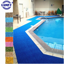 waterproof PVC movable pool floor padding liner decoration swimming pool floor covering