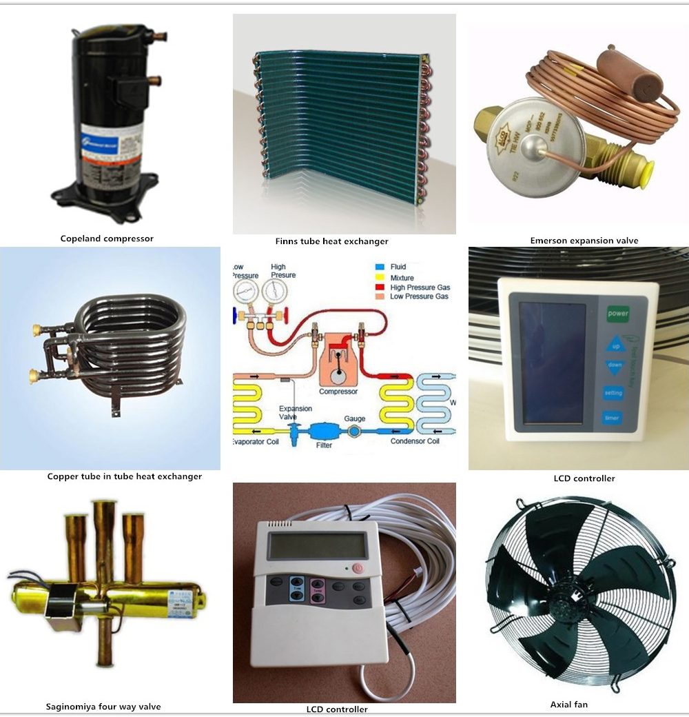 Heat pumps - domestic hot water heat pump DHW