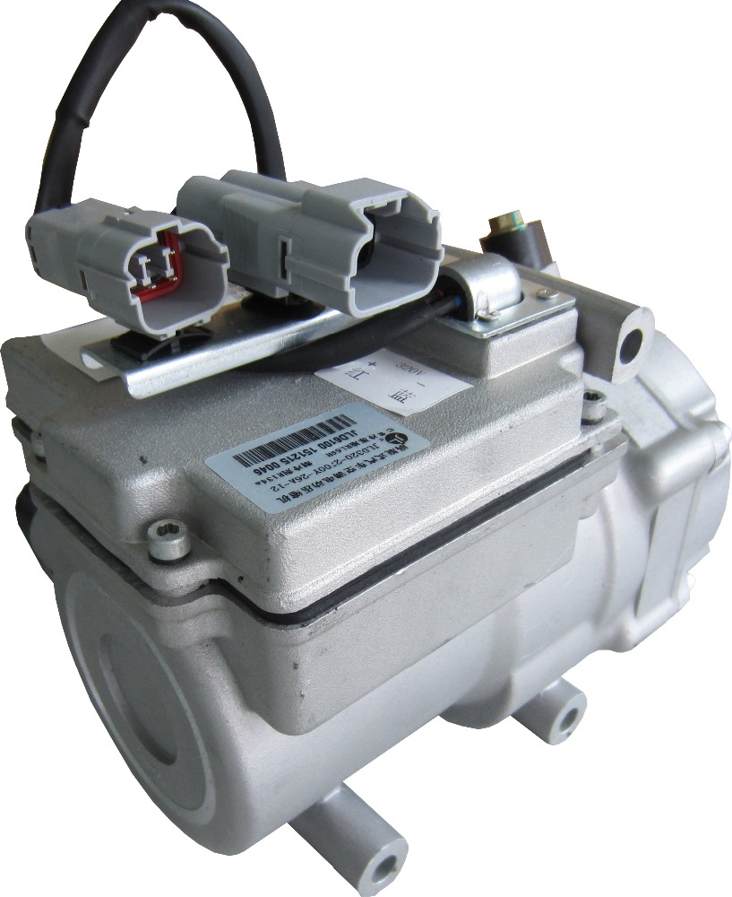 EV dc compressor 396v 4500w for truck bus van aircondition
