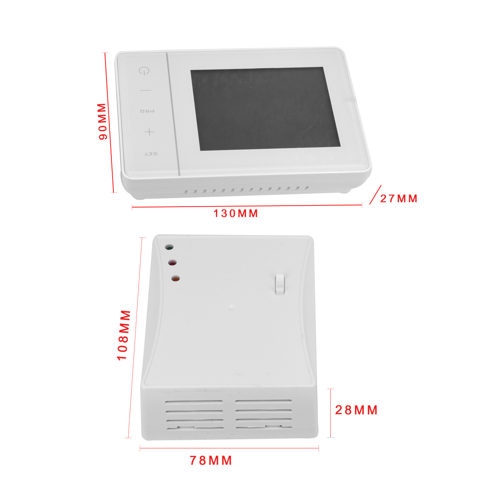 Programmable Digital Heating Wireless Thermostat For Room Heating