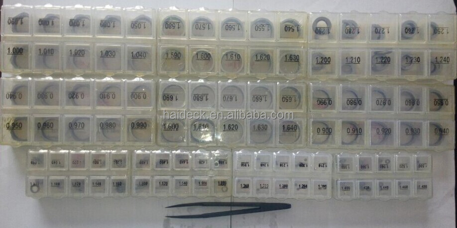Common Rail Injector Shims for Diesel Injector Repairing Kits