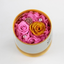 competitive price preserved flowers in a box as Christmas Day gift